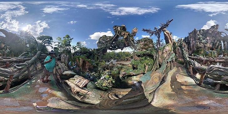 Pandora The World of Avatar, Flight of Passage, Banshee, Disney, Theme Ride, Amusement Park, Roller Coaster, Travel, Orlando, Florida