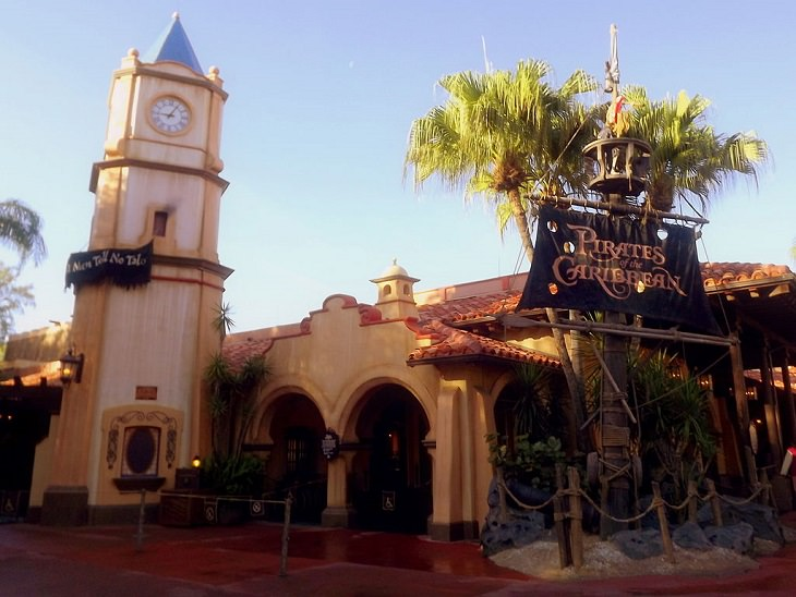 Pirates of the Caribbean, Disney, Theme Ride, Amusement Park, Roller Coaster, Travel, Orlando, Florida