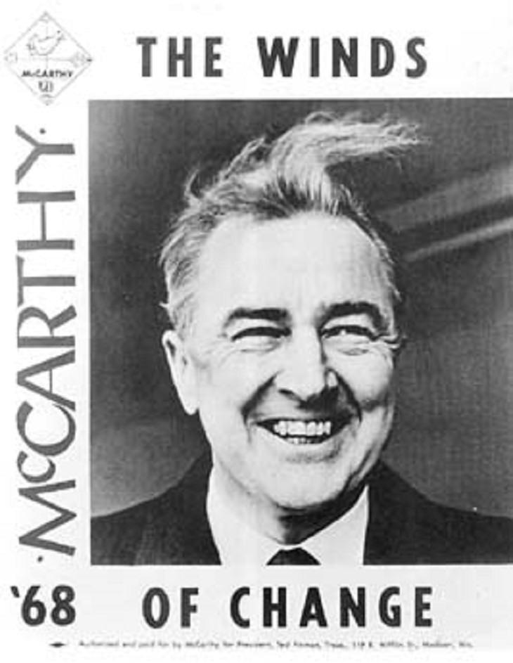 Eugene McCarthy, politicians, funny, joke, one liners, witty, clever,