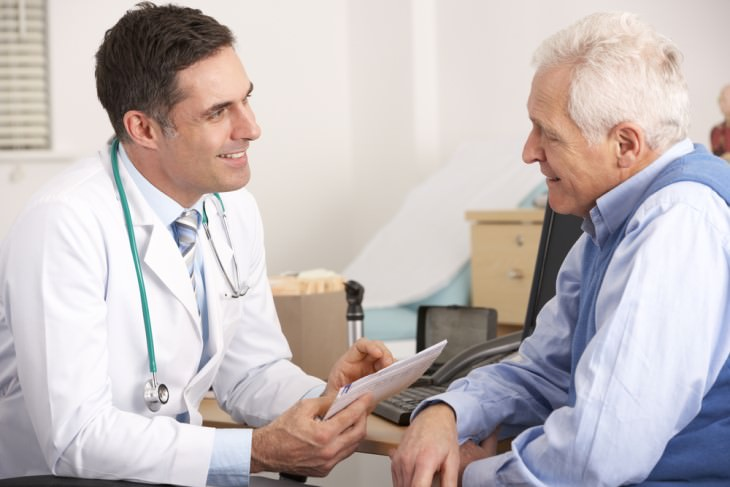joke old man talking to doctor