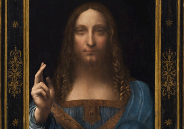 most expensive items Salvator Mundi painting