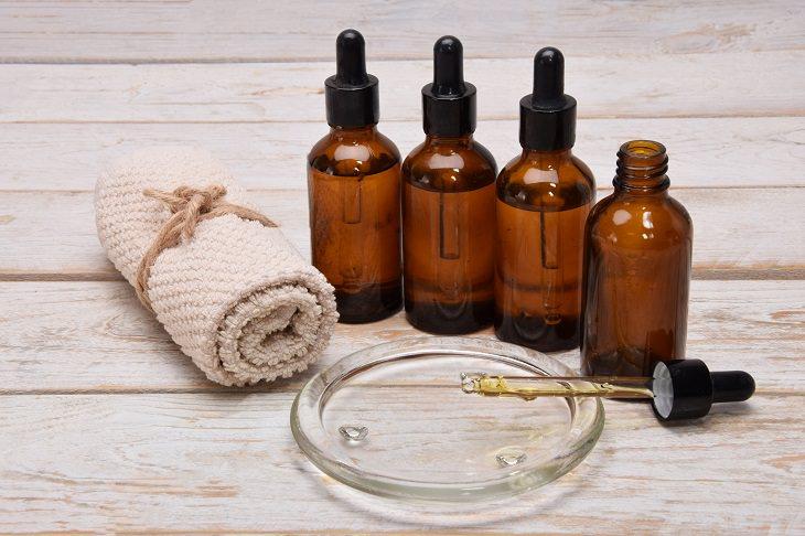anti aging facial oils various