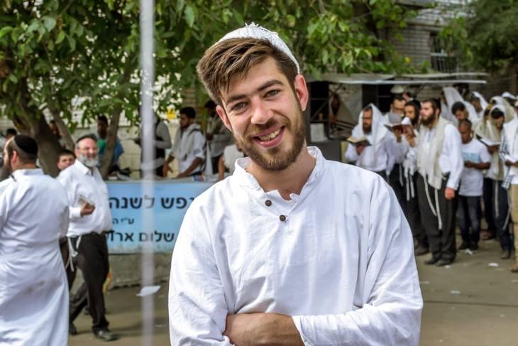 joke: young hasidic jew
