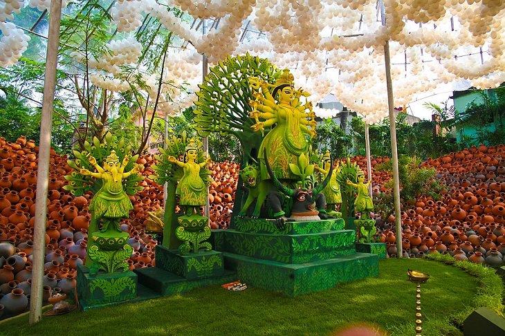 art, travel, lights, festival, celebration, India, Hindu, dussehra, Vijaya Dashami, Durga Puja, Navaratri, Rama, ravana