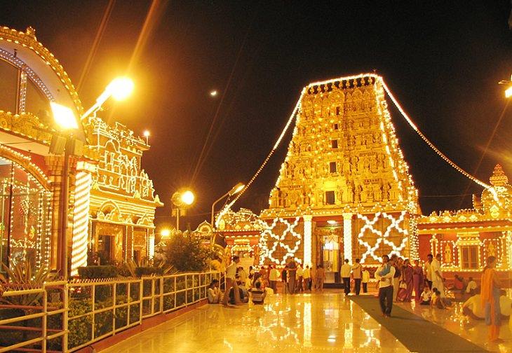 τέχνη, ταξίδια, φώτα, φεστιβάλ, γιορτή, Ινδία, Ινδουιστές, dussehra, Vijaya Dashami, Durga Puja, Ναβάρατρι, Ράμα, ραβάννα