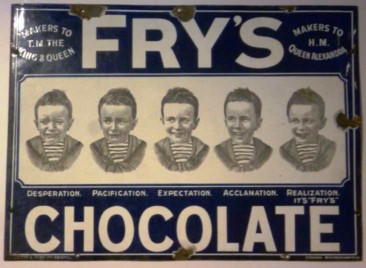 Victorian Inventions Chocolate Bar