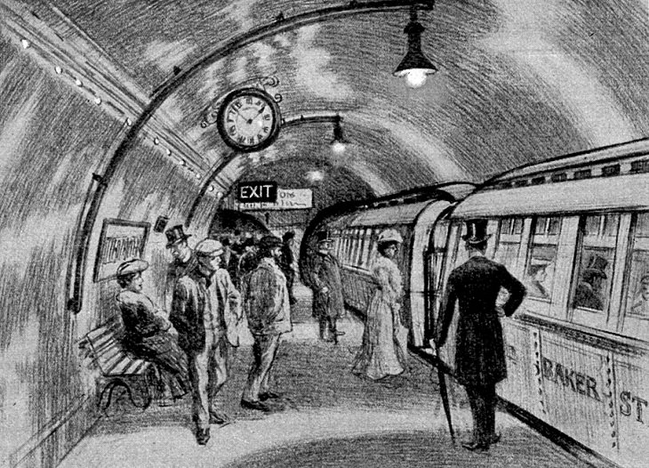 Victorian Inventions The Subway:
