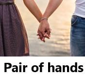 מבחן אישיות שאלה אחת: אחיזת ידיים