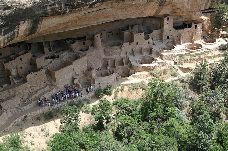 Incredible destinations, structures, monuments, and natural landscapes listed as UNESCO World Heritage Sites, Mesa Verde National Park, Montezuma County,Colorado