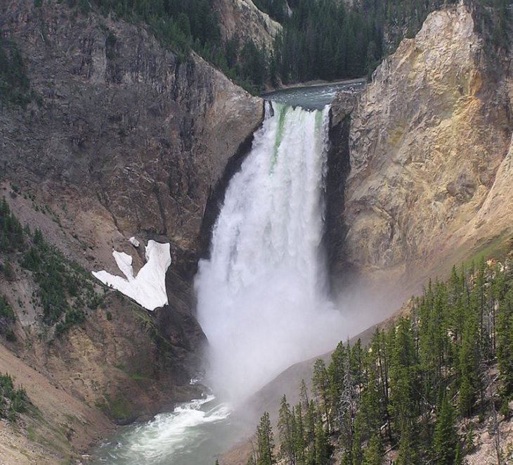 Incredible destinations, structures, monuments, and natural landscapes listed as UNESCO World Heritage Sites, Yellowstone National Park, in Wyoming, Idaho and Montana
