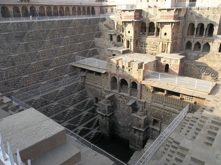 Ancient Eastern Engineering Marvels Chand Baori, India