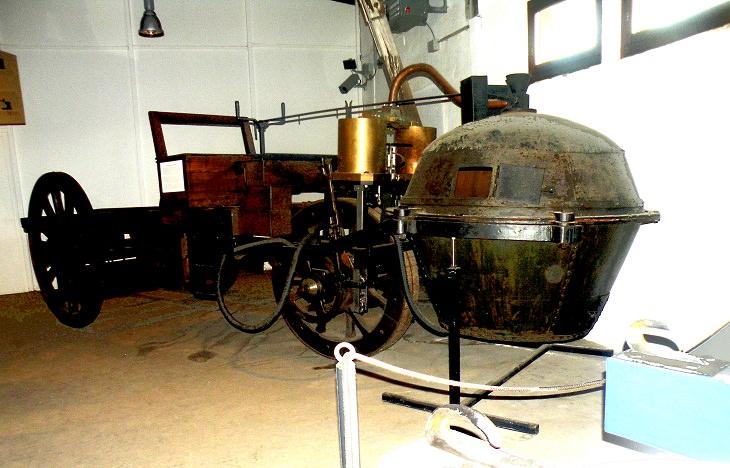 Oldest Cars  Cugnot Fardier