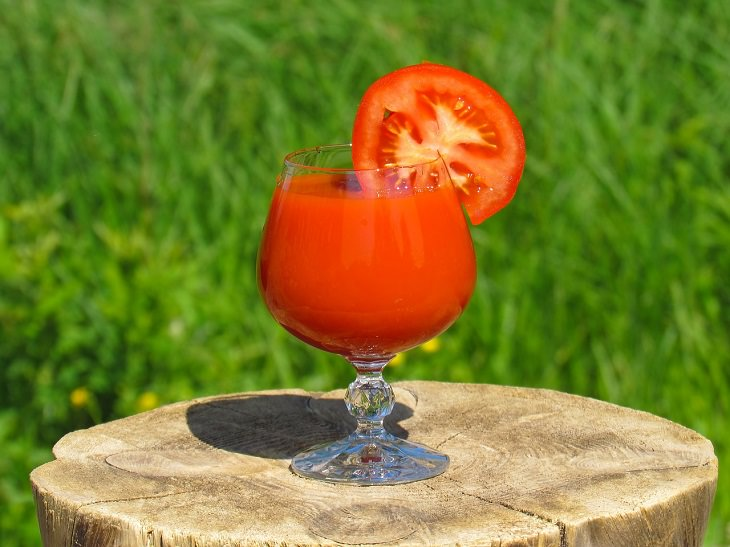 Easy and common drinks for longer life, Tomato Juice