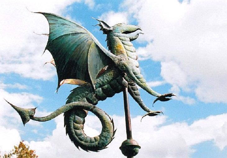 Dragons found in mythology from different countries around the world, Wyvern