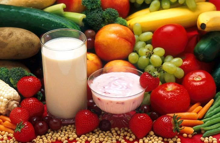 Foods that are rich in Vitamin D, Fortified Dairy and Orange Juice