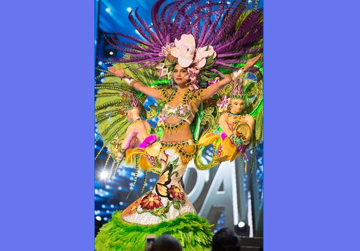 Magnificent, impressive and creative dresses and outs for the Miss Universe National Costume Show of 2017, 2018 and 2019, Keity Drennan, Miss Panama, 2017