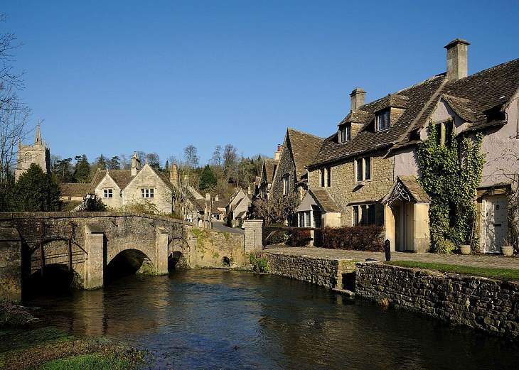 Beautiful Villages in the UK Castle Combe