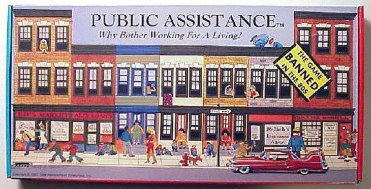 Weirdest Old Board Games Public Assistance
