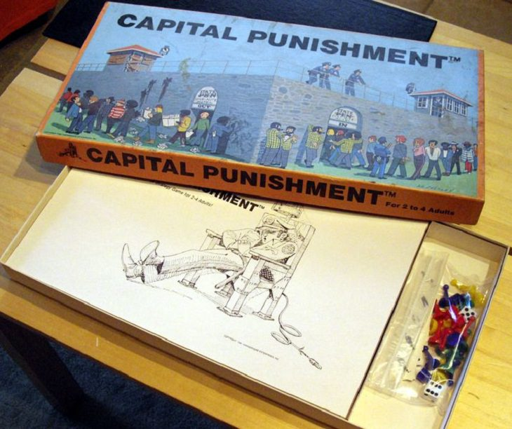 Weirdest Old Board Games Capital Punishment