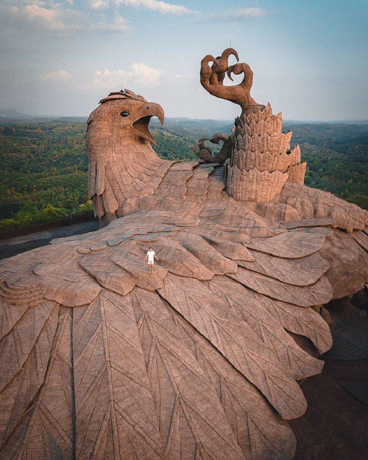 World's Tallest Bird Sculpture Jatayu