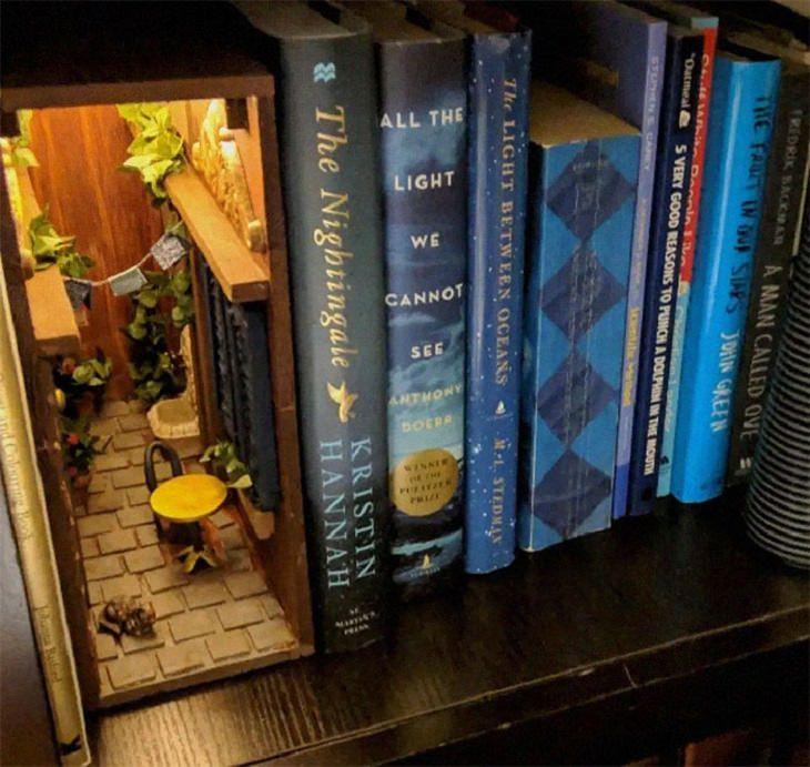 Repartições de livros