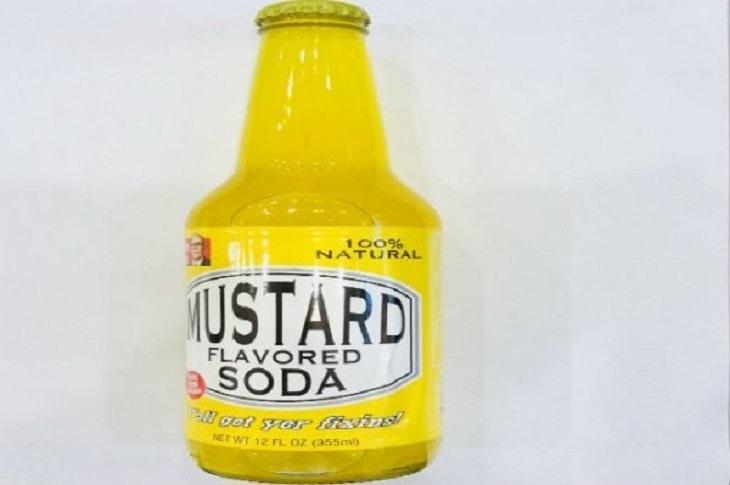 Weird, Strange and Odd soda flavors from around the world, Mustard Soda