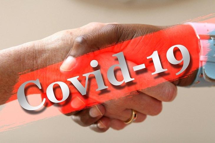 Covid-19 handshake