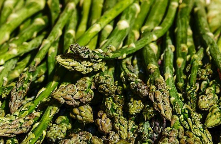 Spring Vegetables Asparagus