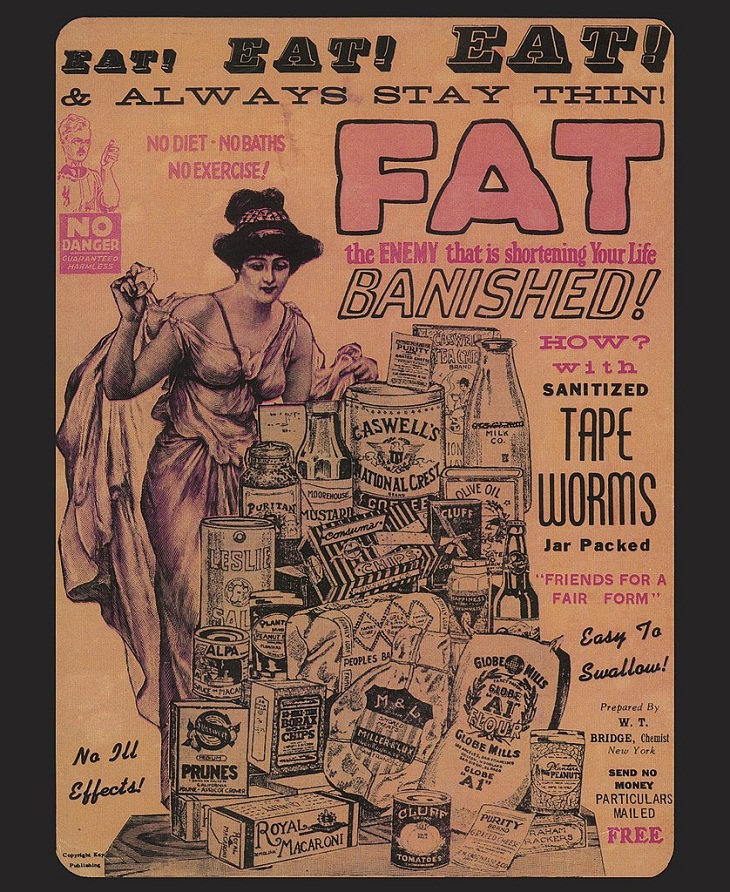 Tapeworm Diet Bizarre Medical Practices