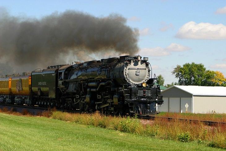 Union Pacific Challenger No. 3985, Largest Steam Locomotives