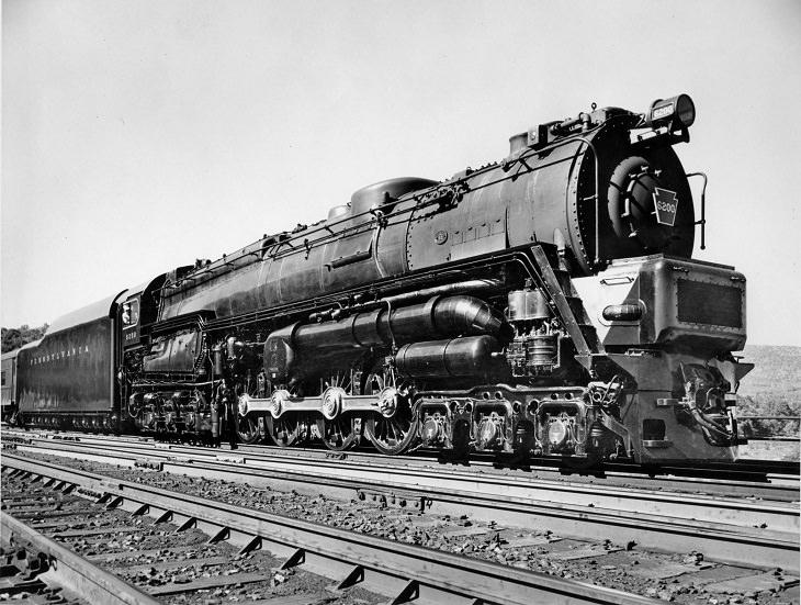 Pennsylvania Railroad class S2, Largest Steam Locomotives
