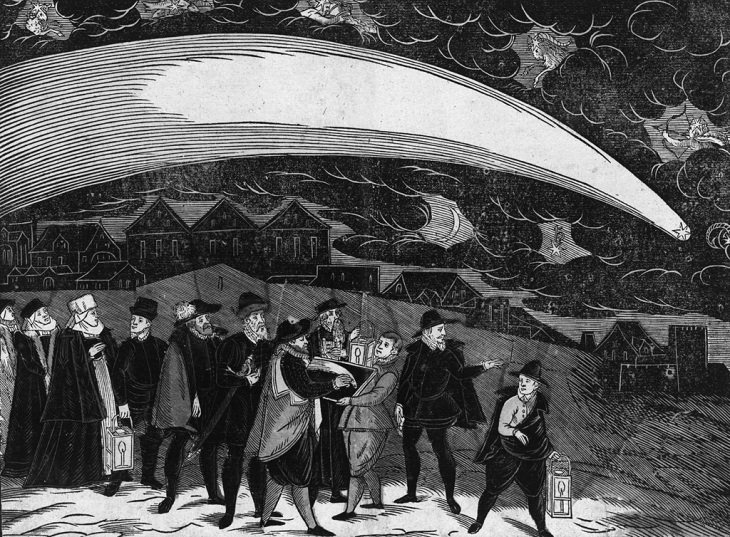 Comets that passed over earth in the last 5 centuries, The Great Comet of 1577, seen over Prague on November 12