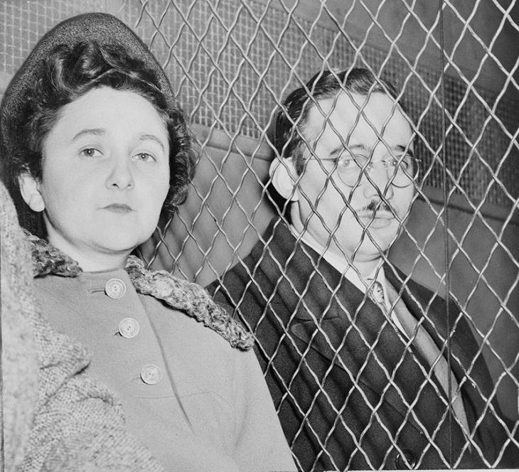 Famous Spies Throughout History and Their Incredible Stories, Julius and Ethel Rosenberg, double agent, KGB, Manhattan Project, Soviet Union, espionage
