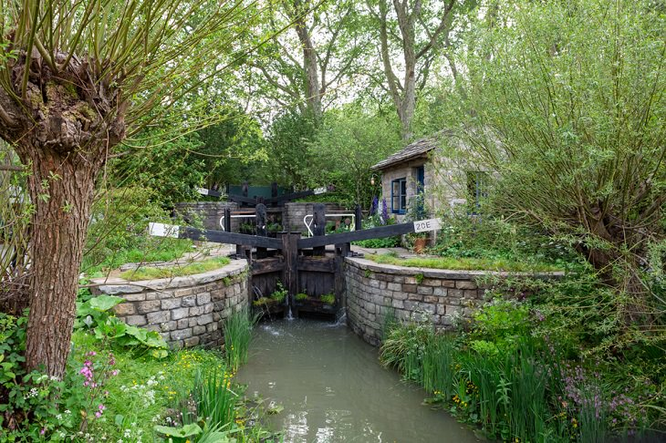 Winning Entries in the 2019 RHS Chelsea Flower Show and Garden Show in London, Show Gardens, People's Choice - The Welcome to Yorkshire Garden by Mark Gregory