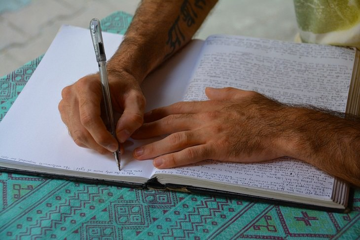 Journaling, stress