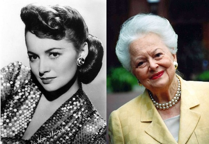 Oldest living actors from the Golden Age of Hollywood, Olivia De Havilland