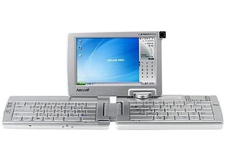 Bizarre looking and weirdly designed laptops, computers and PC's, Samsung SPH-9000 (2006)
