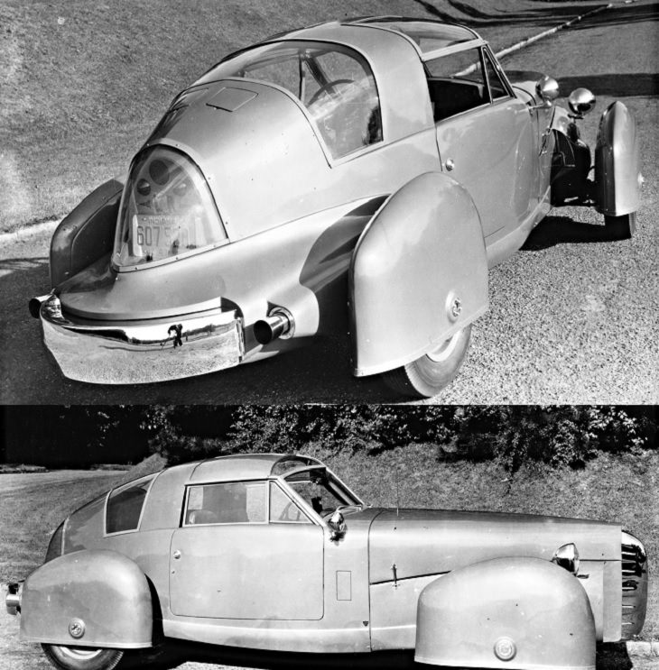 Unique, strange, bizarre and weirdly designed cars from major car companies throughout history, 1948 TASCO