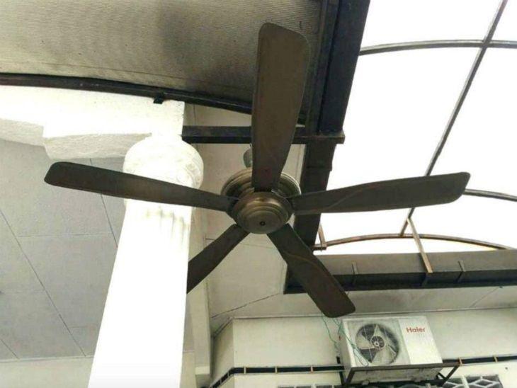 1. Este ventilador es solo de adorno