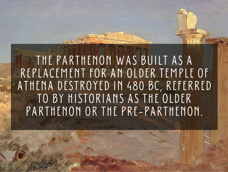 Interesting and lesser known facts about the Parthenon