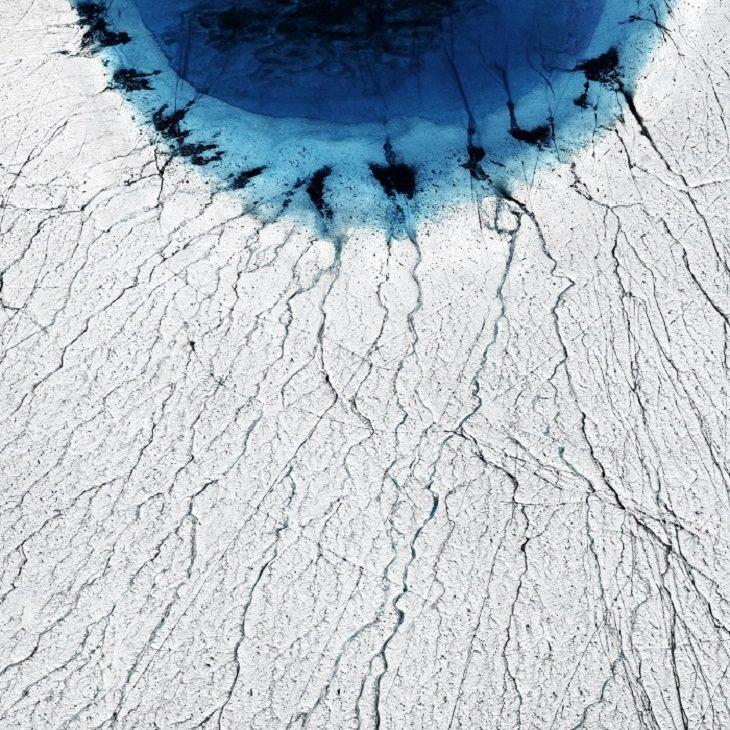 Winning Photographs from International Photography Awards One Shot: Climate Change, Category: Earth, 1st Place: The Eye, By Timo Lieber