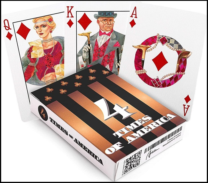 decks of playing card with unique designs
