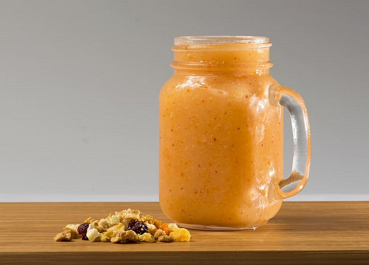 Recipes for delicious, tasty, healthy smoothies that are good for diabetics and people with diabetes, Sweet potato smoothie