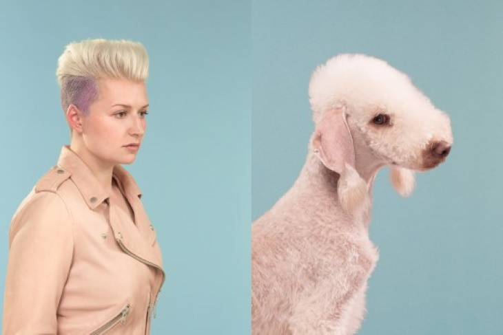 Photos of Dogs & Their Owners by Gerrard Gethings