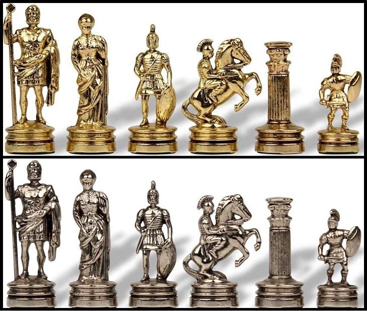 Unique and creative chess sets, Romans Chess Set