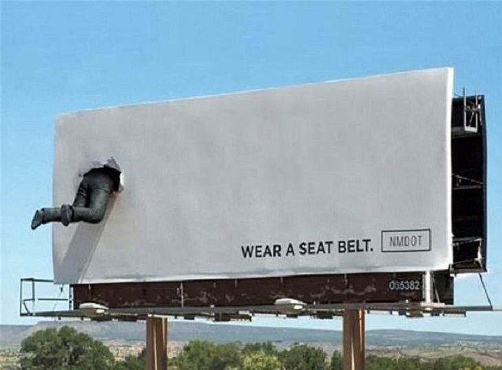 Hilarious, funny, weird, bizarre billboards