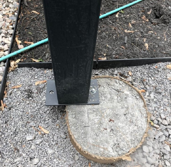 More hilarious construction fails and planning mistakes and errors, support beam placed on flat cylinder of cement
