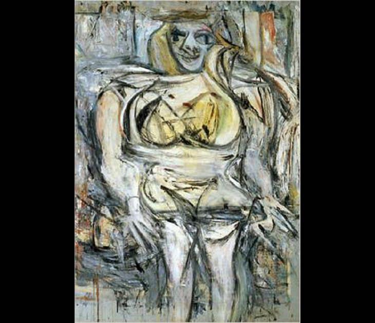 Pinturas costosas Mujer III, de Willem De Kooning - Vendida por 137,5 millones de dólares