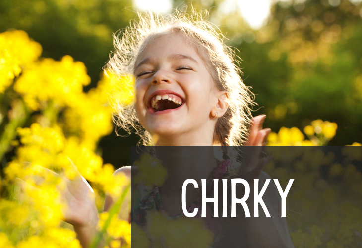 Archaic Ways to Say 'Happy', Chirky