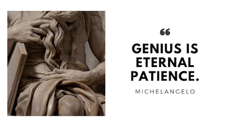 """15 Timeless Quotes by Great Renaissance Thinkers """"Genius is eternal patience."""""""
